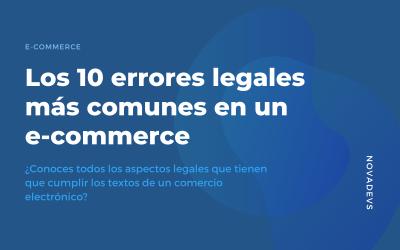 Los 10 errores legales más comunes en un e-commerce
