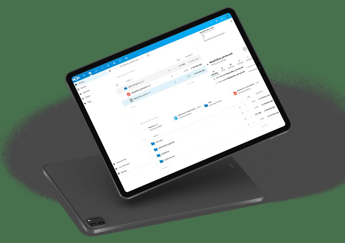 webdav gestión colaborativa